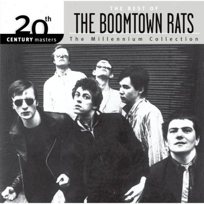 20th Century Masgers: The Millennium Collection - The eBst Of The Boomtown Rats