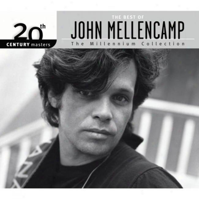 20th Century Masters: The Millennium Collection - The Best Of John Mellencamp (with Biodegradable Cx Case)