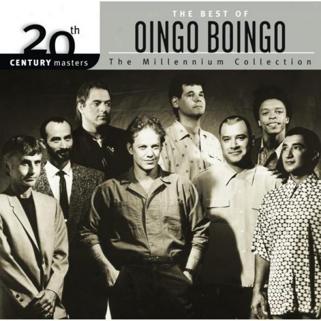 20th Century Masters: The Millennium Collection - The Best Of Oingo Bongo (with Biodegradable Cd Case)