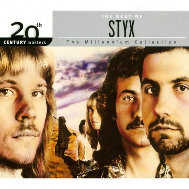20th Century Masters: The Millennium Collection - The Best Of Styx (with Biodegradable Cd Case)