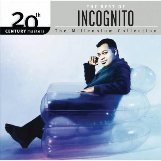 20th Century Masters: The Millennium Collection - The Best Of Incognito (with Biodegradable Cd Case)