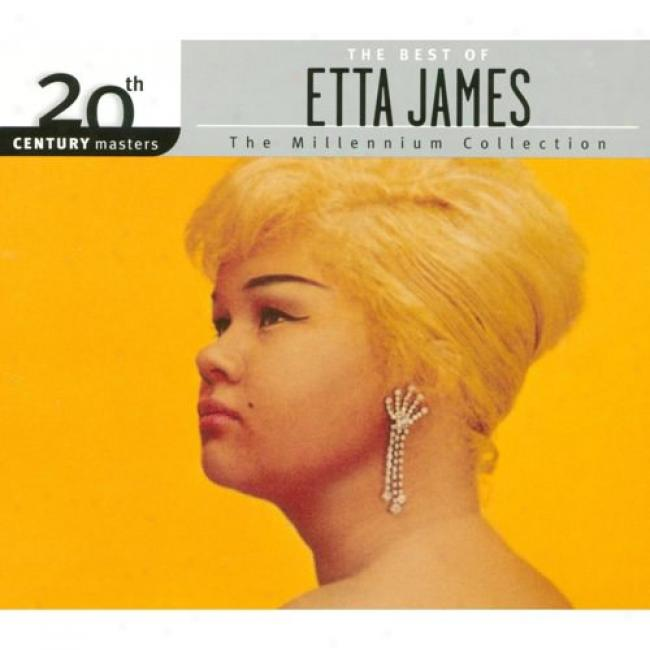 20th Centruy Masters: The Millennium Collection - The Best Of Etta James (with Biodegradable Cd Circumstance)