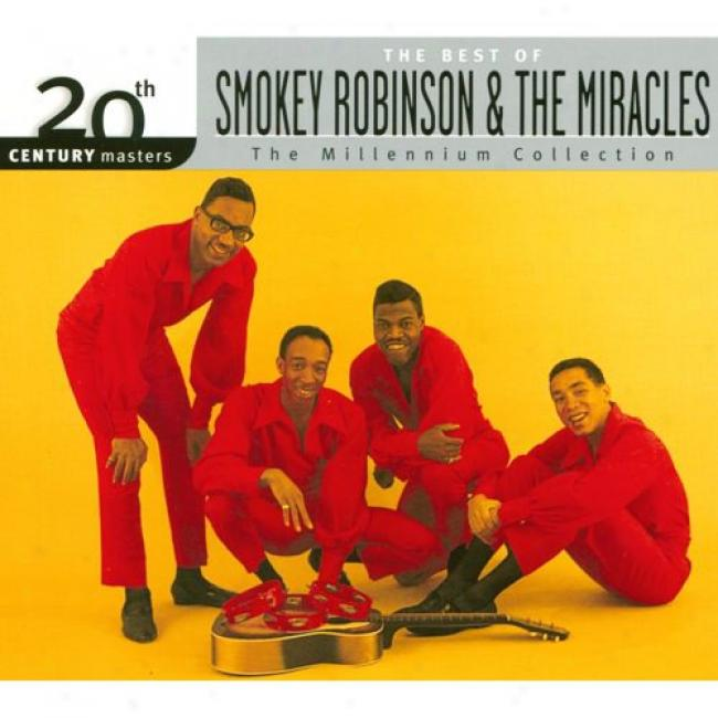20th Century Masters: The Millennium Collection - The Best Of Smokey Robinson & The Miracles (with Biodegradable Cd Case)