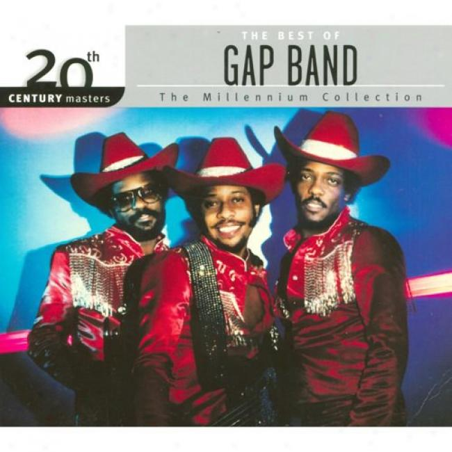 20th Century Masters: The Millennium Collection - The Best Of The Gap Band (with Biodegradable Cd Case)