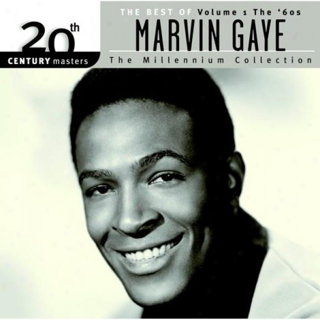 20th Century Masters: The Millennium Collection - The Best Of Marvin Gaye, Vol. 1The '60s (with Biodegradable Cd Case)