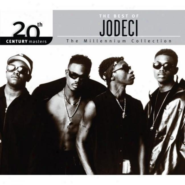 20th Century Masters: The Millennium Collection - The Best Of Jodeci (with Biodegradzble Cd Case)