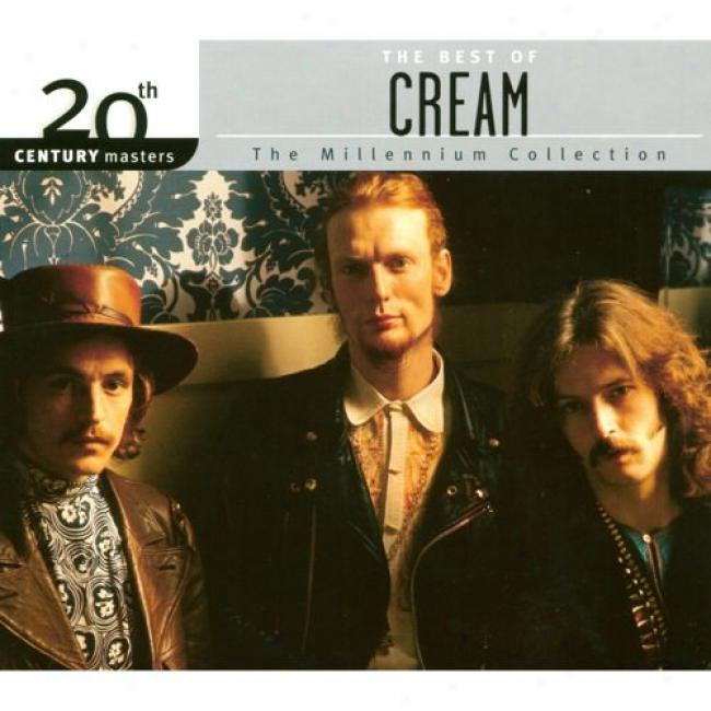 20th Century Masters: The Millennium Collectioon - The Best Of Cream (with Biodegradable Cd Case)