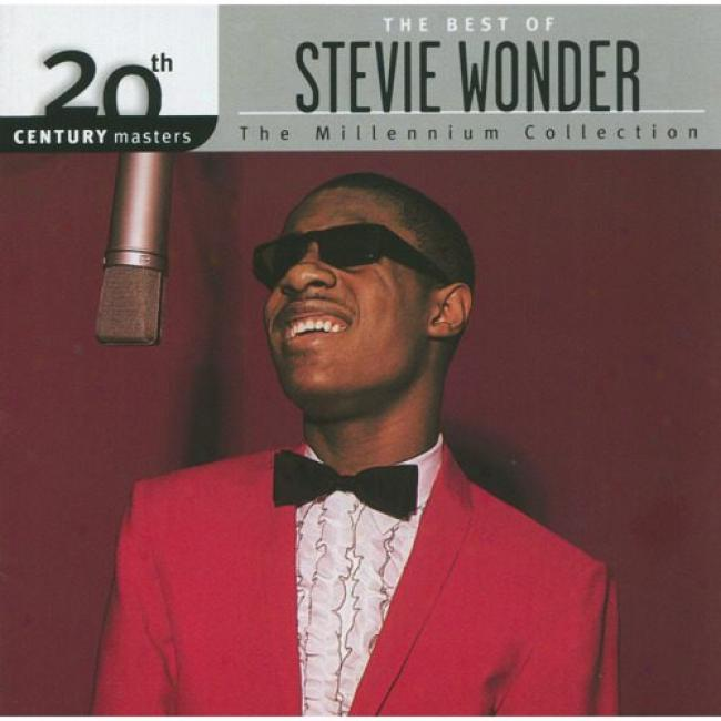 20th Century Masters: The Millennium Collection - The Best Of Stevie Wonder (remaster)