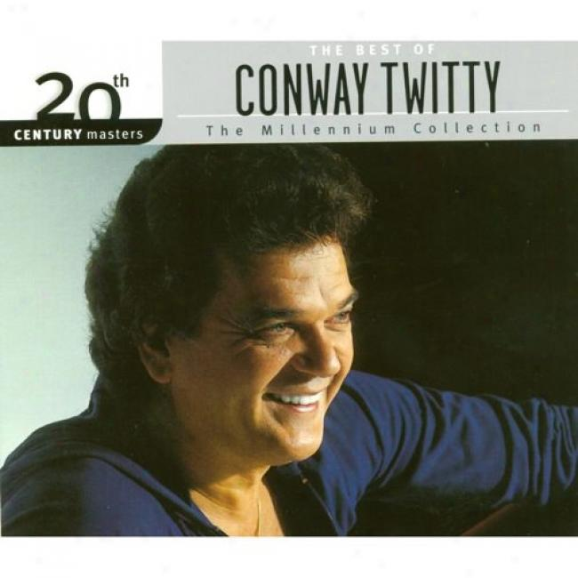 20th Century Masters: The Millennium Collection - The Best Of Conway Twitty (with Biodegradable Cd Case)