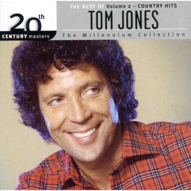 20th Century Masters: The Millennium Collection - The Best Of Tom Jones, Vol.2 Country Hits