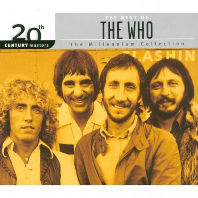 20th Century Masters: The Millennium Collection - The Best Of The Who (with Biodegradable Cd Case)