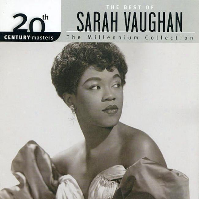 20th Crntury Masters: The Millennium Collection - The Beet Of Sarah Vaughan (remaster)