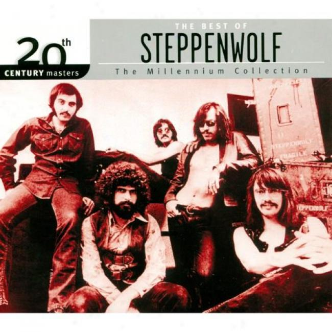 20th Century Masfers: The Millennium Accumulation - The Best Of Steppenwolf (with Biodegradable Cd Instance)
