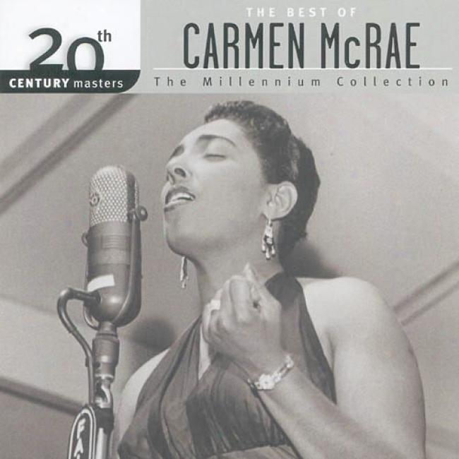20th Century Masters: The Millennium Accumulation - The Best Of Carmen Mcrae (remaster)