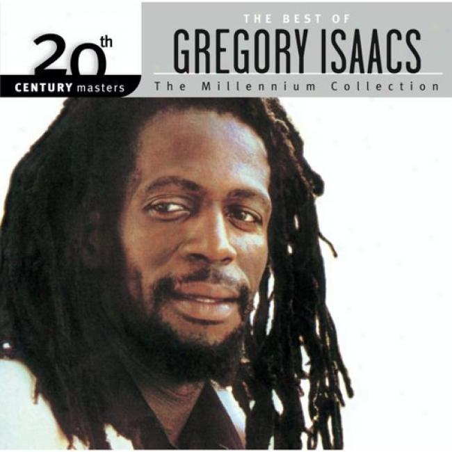 20th Century Masters: The Millennium Collection - The Best Of Gregory Isaacs (with Biodegradable Cd Case)