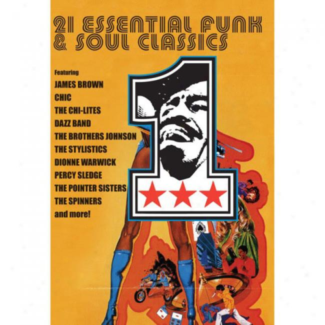 21 Essential Funk & Soul Classics (music Dvd) (amaray Case)