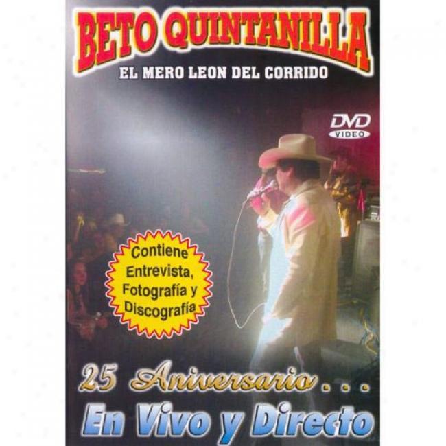 25 Aniversario... En Vivo Y Directo (muzic Dvd) (amaray Covering)