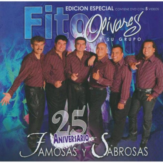 25 Aniversario: Famosas Y Sabrosas (incluxes vDd)