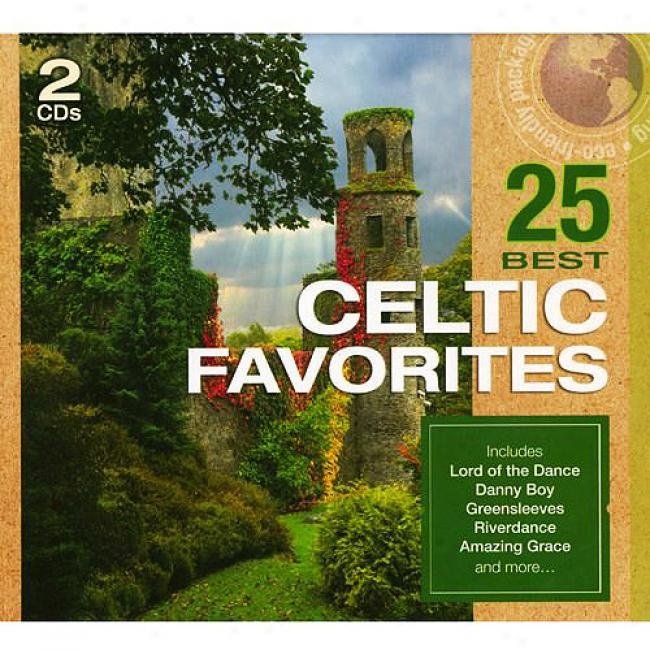 25 Best Celtic Favorites (2cd) (eco-friendly Bundle)