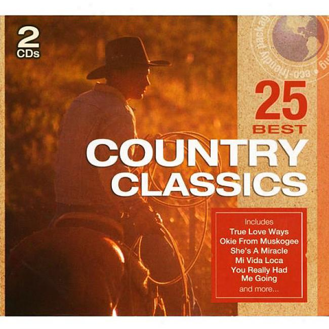 25 Best Country Classics (2cd) (eco-friendly Package)