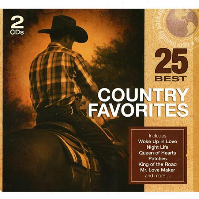 25 Best Country Favoritds (2cd) (eco-friendly Package)