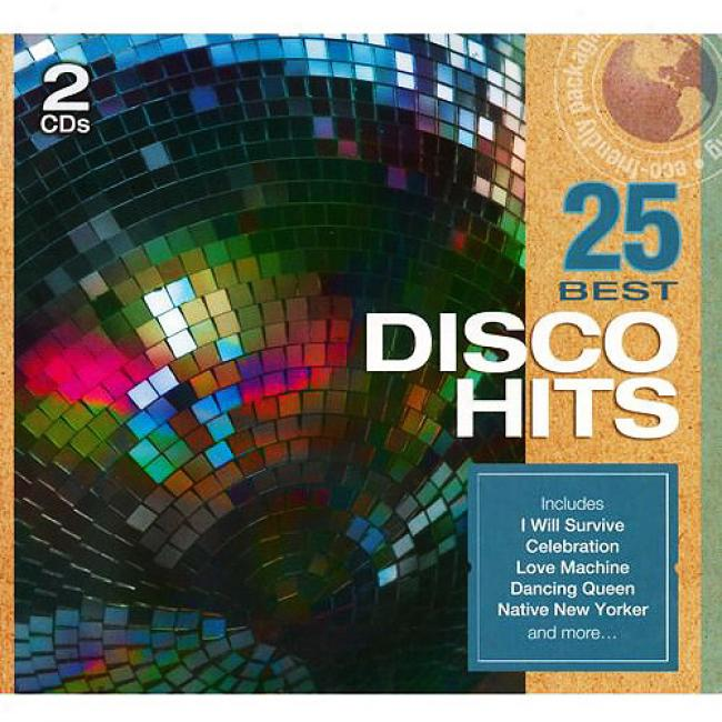 25 Most of all Disco Hits (2cd) (eco-friendly Package)
