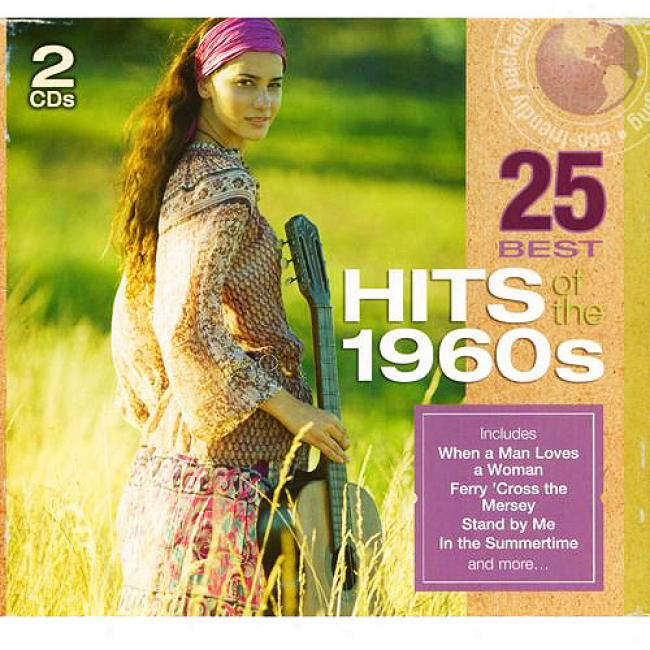 25 Best Hits Of The 1960s (2cd) (eco-friendly Package)