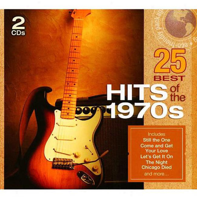 25 Best Hits Of The 1970s (2cd) (eco-friendly Package)