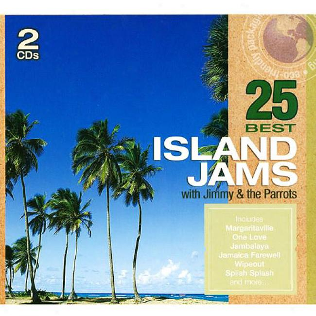 25 Best Island Jams (2cd) (eco-friendly Package)
