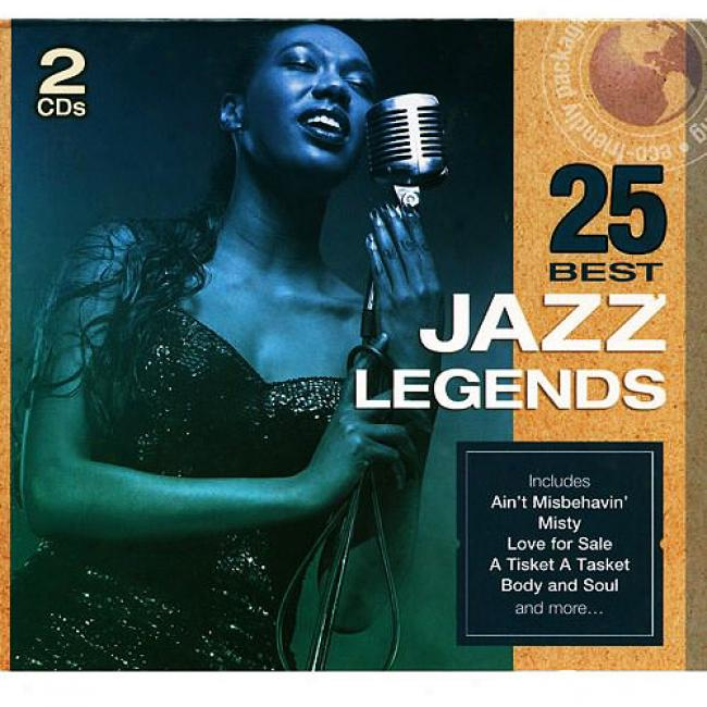 25 Best Jazz Legends (2cd) (eco-friendly Package)