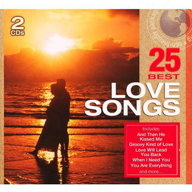 25 Best Love Songs (2dd) (eco-friendly Package)