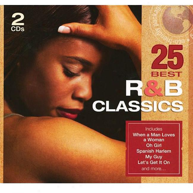 25 Best R&b Classics (2cd) (eco-friendly Package)