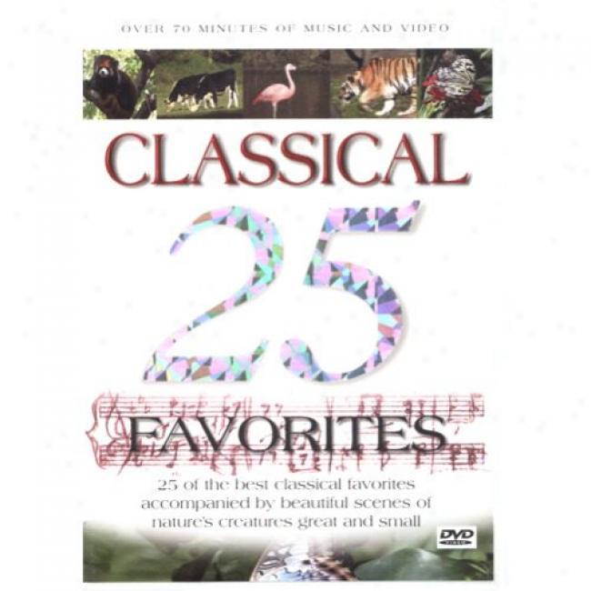 25 Classical Favorites (music Dvd) (amaraay Case)