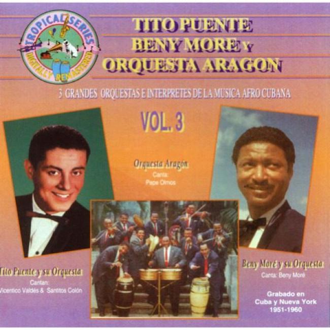 3 Grandes Orquestas E Interpretes De La Muisca Afro Cubana, Vol.3