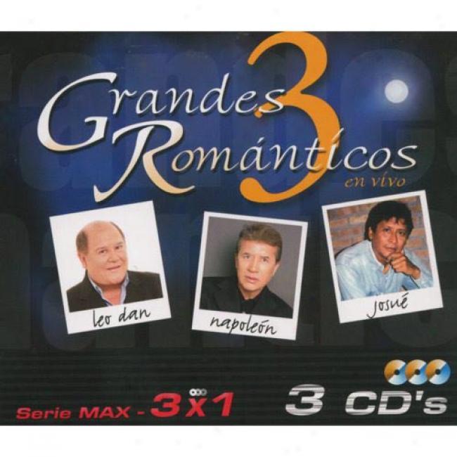 3 Grandes Romanticos: Serie Max - 3 X 1 (box Set)