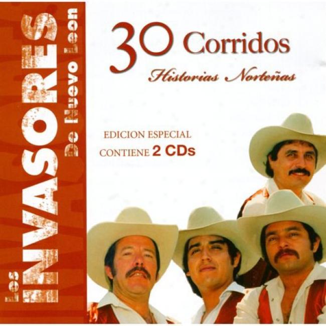 30 Corridos: Historias Nortenos (special Edition) (2cd)