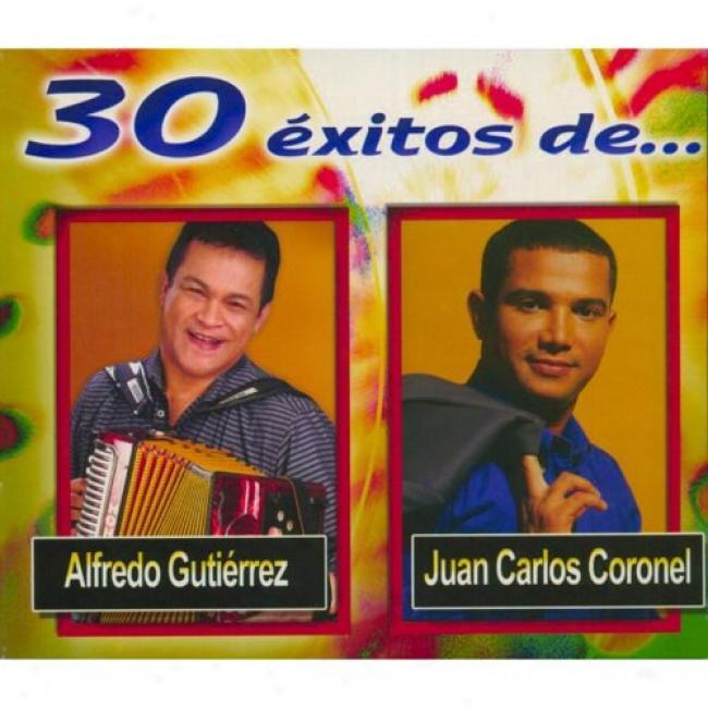 30 Exitos De... Alfredo Gutierrez Y Juan Carlos Coronel (3 Disc Box Set)
