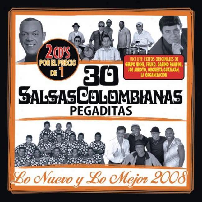 30 Salsas Colombianas Pegaditas: Lo Nuevo Y Lo Mejor 2008 (2cd)