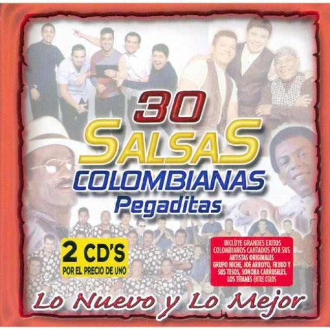 30 Salsas Colombianas Pegaditos: Lo Nuevo Y Lo Mejor