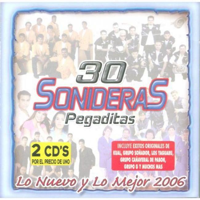 30 Sonideras Peagditas: Lo Nuevo Y Lo Mejor 2006 (2cd)