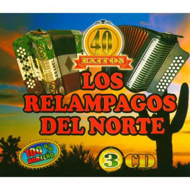 40 Exitos: Del Rey Del Acordeon (3 Disc Case Set)