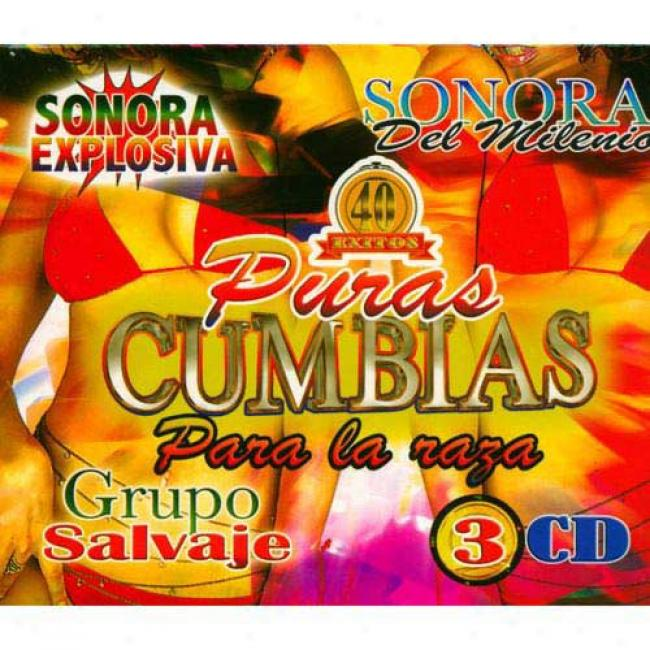40 Exitos: Puras Cumbia Para La Raza (3 Disc Box Set)