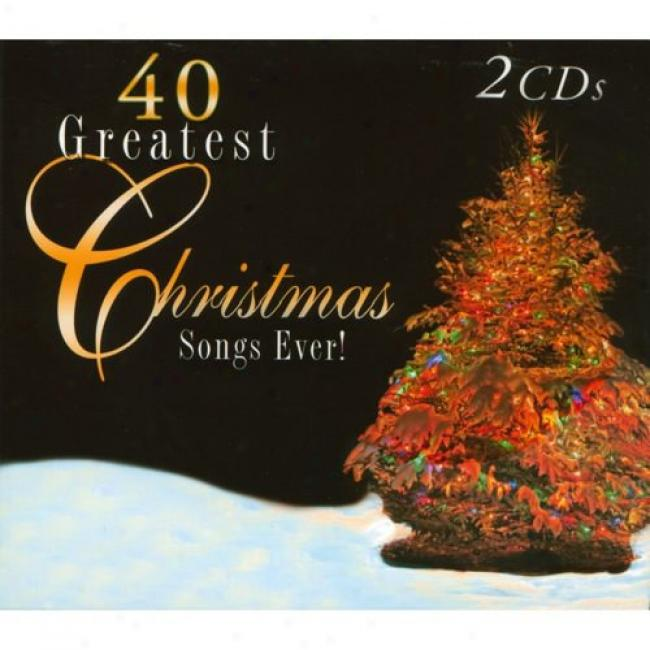 40 Greatest Christmas Songs Ever! (2cd) (digi-pak)