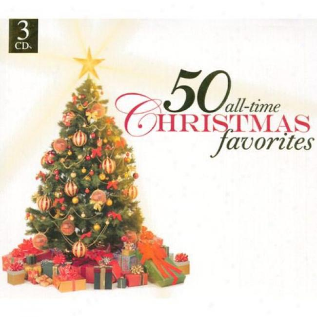 50 All-time Christmas Favorites (3cd) (digi-pak)