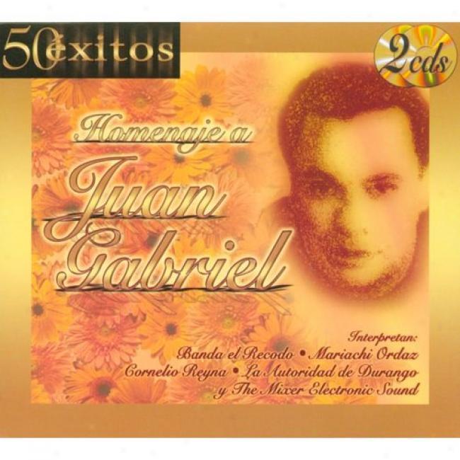 50 Exitos: Homenaje A Juan Gabriel (2cd) (digi-pak)