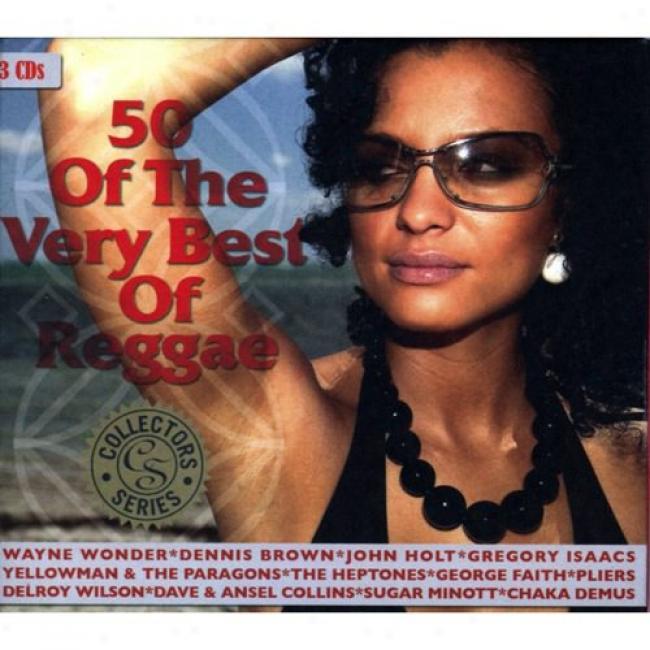 50 Of The Very Best Of Reggae (3cd) (digi-pak)