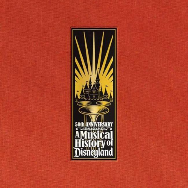 50th Anniversary: A Musical History Of Disneyland (6 Disc Box Set)
