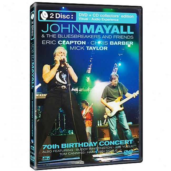 70th Birthday Concert (special Edition) (music Dvd/cd) (amaray Case)