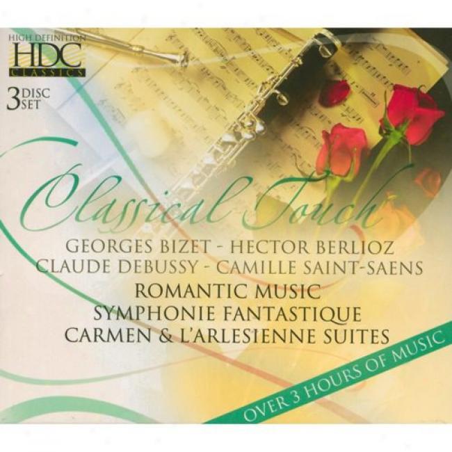 A Classical Touch: Bizet/belioz/debussy/saint-saens (3cd) (cd Slicase)