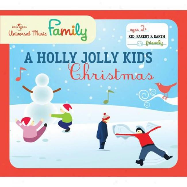 A Holly Jolly Kids Christmas (with Biodegradable Cd Case)
